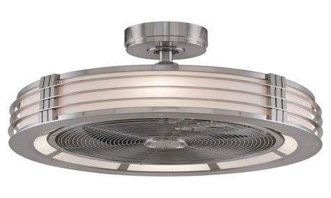 Indoor Ceiling Fans With Light, Ceiling Fan With Enclosed