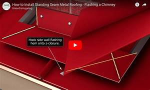How To Flash A Masonry Chimney Into A Metal Roof