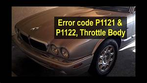 Throttle Body Connector Clean For Error Code P1121 And