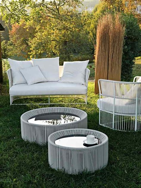 Canap Jardin Design Salon De Jardin Design La Collection Tibidabo Par Varaschin
