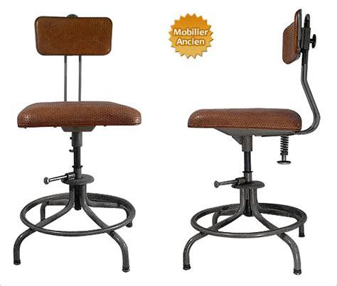 chaise de bureau industriel chaise design industriel flambo