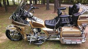 1985 Classic Limited Edition Honda 1200 Goldwing Brown