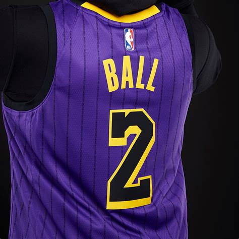 Pagesbusinessessports & recreationsports teamlos angeles lakers. Mens Replica - Nike NBA Lonzo Ball Los Angeles Lakers City ...