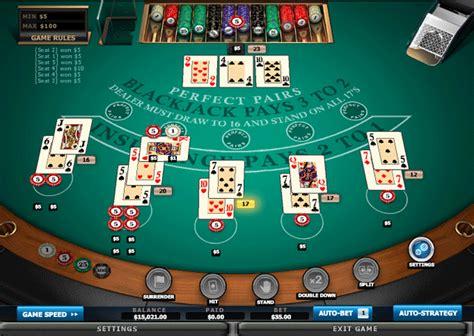 Free Blackjack Game  Blackjack Pairs