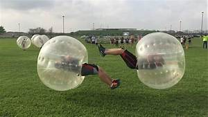 Bubble Soccer Big Hits - YouTube