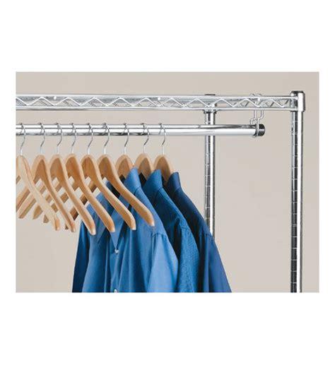 Intermetro Clothes Hanger Rod With Brackets In Intermetro