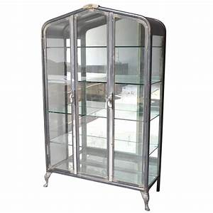 Vitrine Metall Glas : metal vitrine for sale at 1stdibs ~ Whattoseeinmadrid.com Haus und Dekorationen