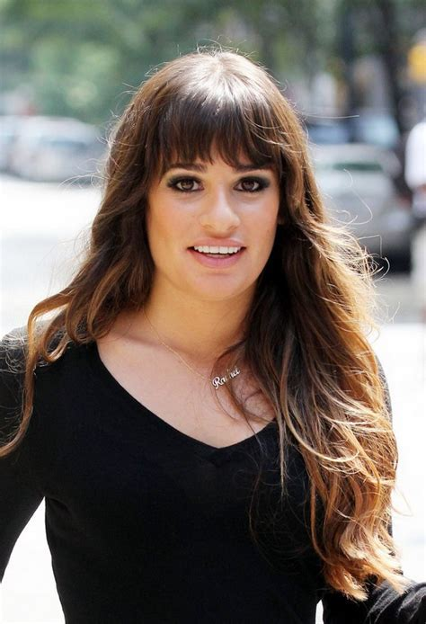 Lea Michele Hairstyles   Celebrity Latest Hairstyles 2016