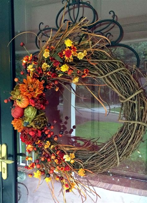 Southern Inspirations Diy Fall Wreathhello Fall