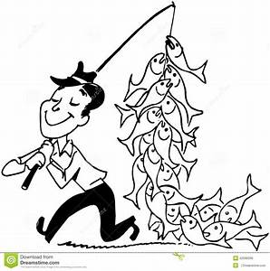 Bilder Mit Fischen : mann mit fischen vektor abbildung illustration von fischer 42096336 ~ Frokenaadalensverden.com Haus und Dekorationen