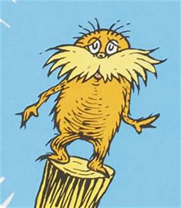 The gallery for --> The Lorax Book Characters
