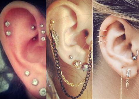 top   types  cool ear piercings styles