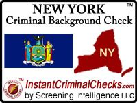 New York State Background Check New York Criminal Background Checks For Pre Employment