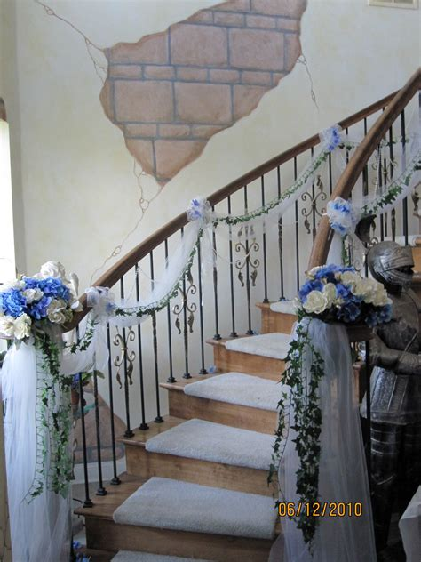 sis n law s wedding staircase at the castle the tulle