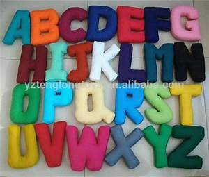 hot sale stuffed letter toy letter shaped pillow buy With stuffed pillow letters