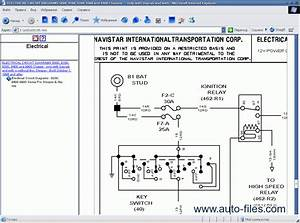 International Truck Isis 2009  Repair Manuals Download