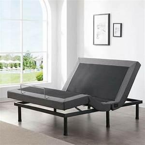 Classic Brands Adjustable Comfort Upholstered Adjustable
