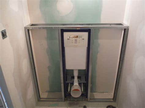 faire le coffrage en placo d un wc suspendu r 233 nover soi m 234 me une maison en