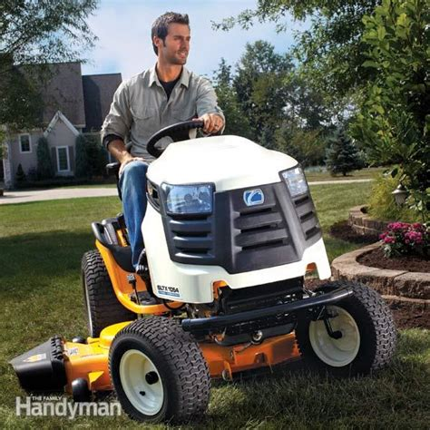 riding lawn mower reviews  family handyman