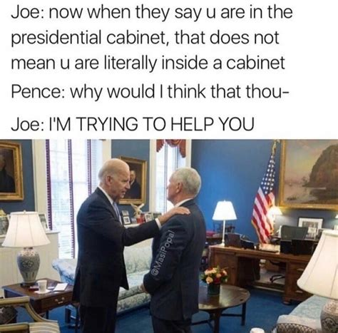 Biden Mike Pence Prankster Joe Know Your Meme