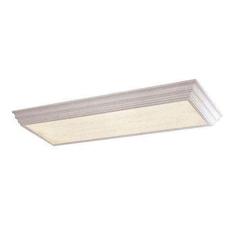 fluorescent light fixture lowes shop portfolio white