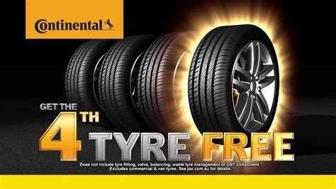 Continental Tyres Special Promotion June 2016