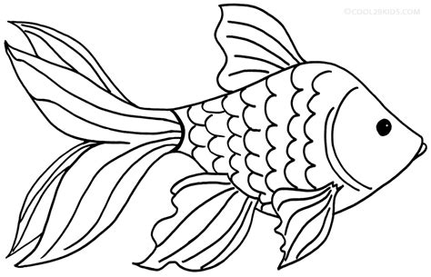 goldfish clipart black and white goldfish coloring pages getcoloringpages
