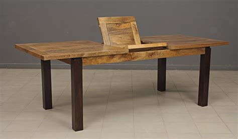 table cuisine bois exotique meuble salle de bain deco