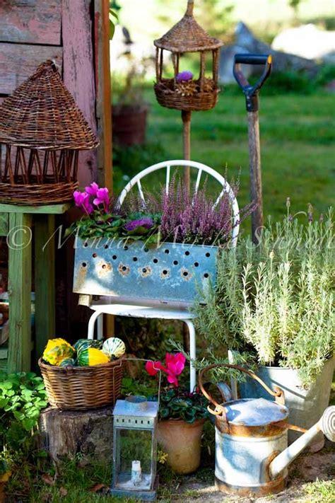 Best Rustic Gardens Images Pinterest Garden Deco