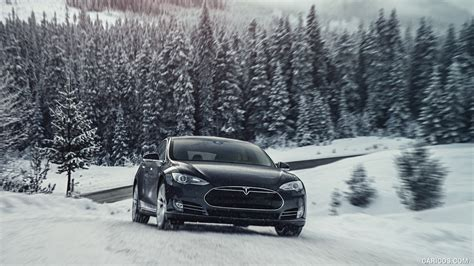 View Are Tesla Cars Good In The Snow Background