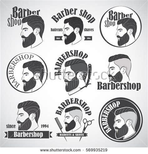 Hipster Barber Shop Logos Related Keywords Hipster