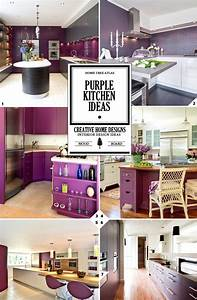 25 best ideas about purple kitchen on pinterest purple With kitchen cabinets lowes with modern purple wall art