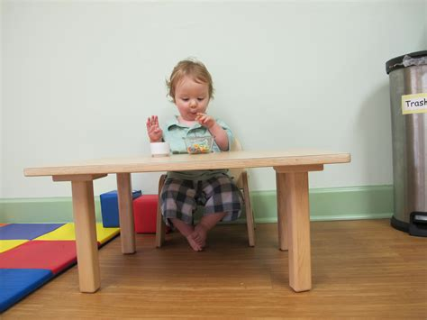 table et chaise bébé chaise bébé montessori