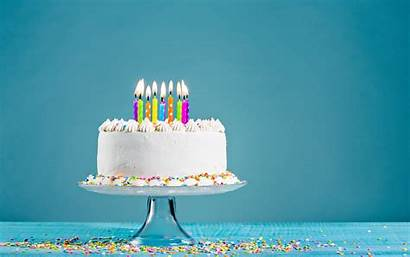 Birthday Cake Background Happy Candles Resolution Wallpapers