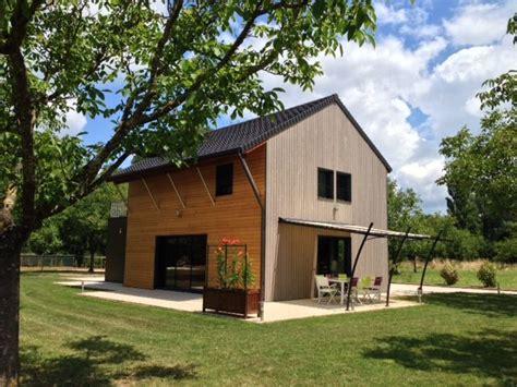 maison ossature bois dordogne maison ossature bois class 233 e 3 233 toiles par office de tourisme de la dordogne p 233 rigord noir