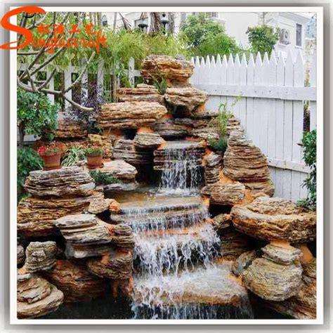 customized outdoor decorative ornamental fiberglass water