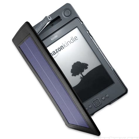 Solarkindle Lighted Cover Solar Powered  Ee  Kindle Ee   Case