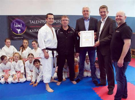 ladenburg budoclub rhein neckar wird 1 karate talentst 252 tzpunkt in baden w 252 rttemberg