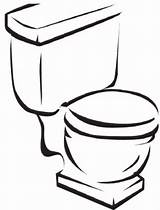 Coloring Pages Printable Toilet Potty Training Toilets Toddler sketch template