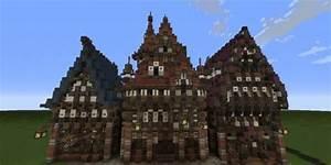 Three Merovian Houses Minecraft Building Inc