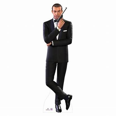 Connery Bond Sean James Cardboard Cutout 007