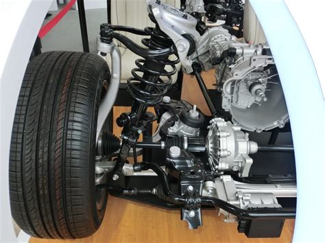 wd layout front axle   link front suspension vetr