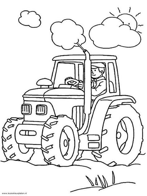 Tractor Kleurplaat by 45 Best Images About Kleurplaten Tractor On