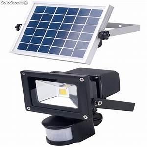 Projecteur Led Detecteur : projecteur 10w led avec d tecteur de pr sence batterie ~ Carolinahurricanesstore.com Idées de Décoration
