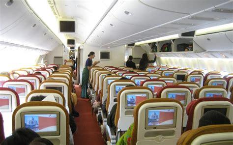 airplane pics air india  economy class cabin pics