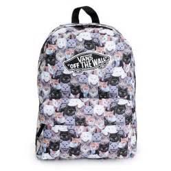 cat print backpack vans x aspca realm cat backpack