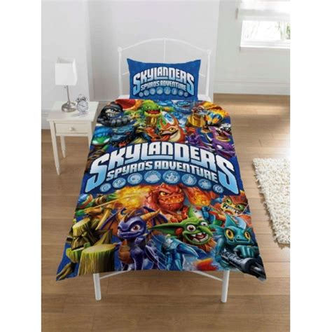 skylanders spyros adventure panel single bed duvet quilt
