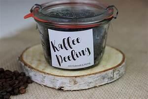 Wie Machen Bienen Honig : kaffeepeeling mit kokos l und honig selbst machen the inspiring life ~ Whattoseeinmadrid.com Haus und Dekorationen