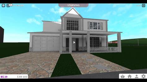 modern house  bloxburg  stories part   part youtube