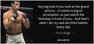 Forrest Griffin... Huge Task Quotes